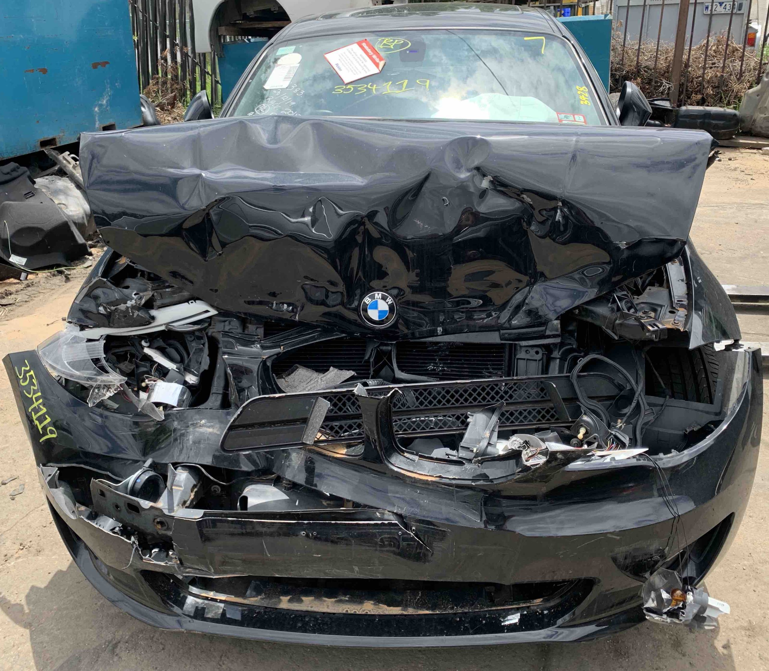WRECKING BMW E82 120I COUPE
