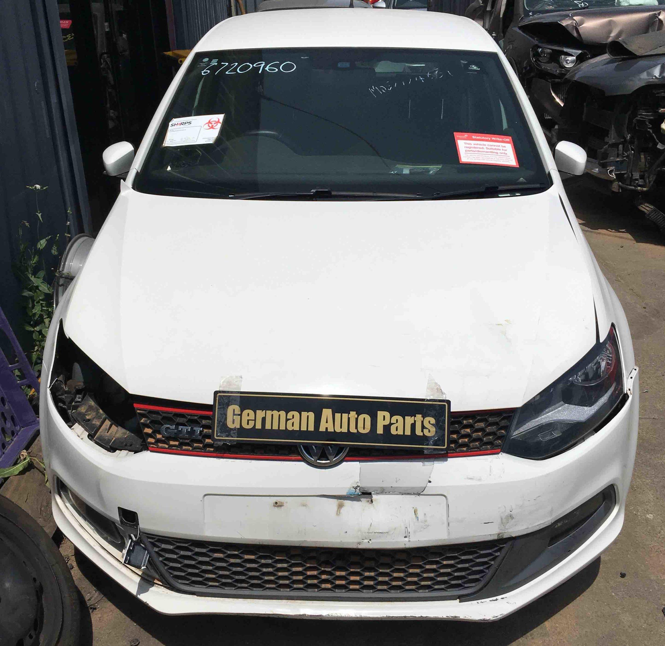 WRECKING VW POLO GTI 2011