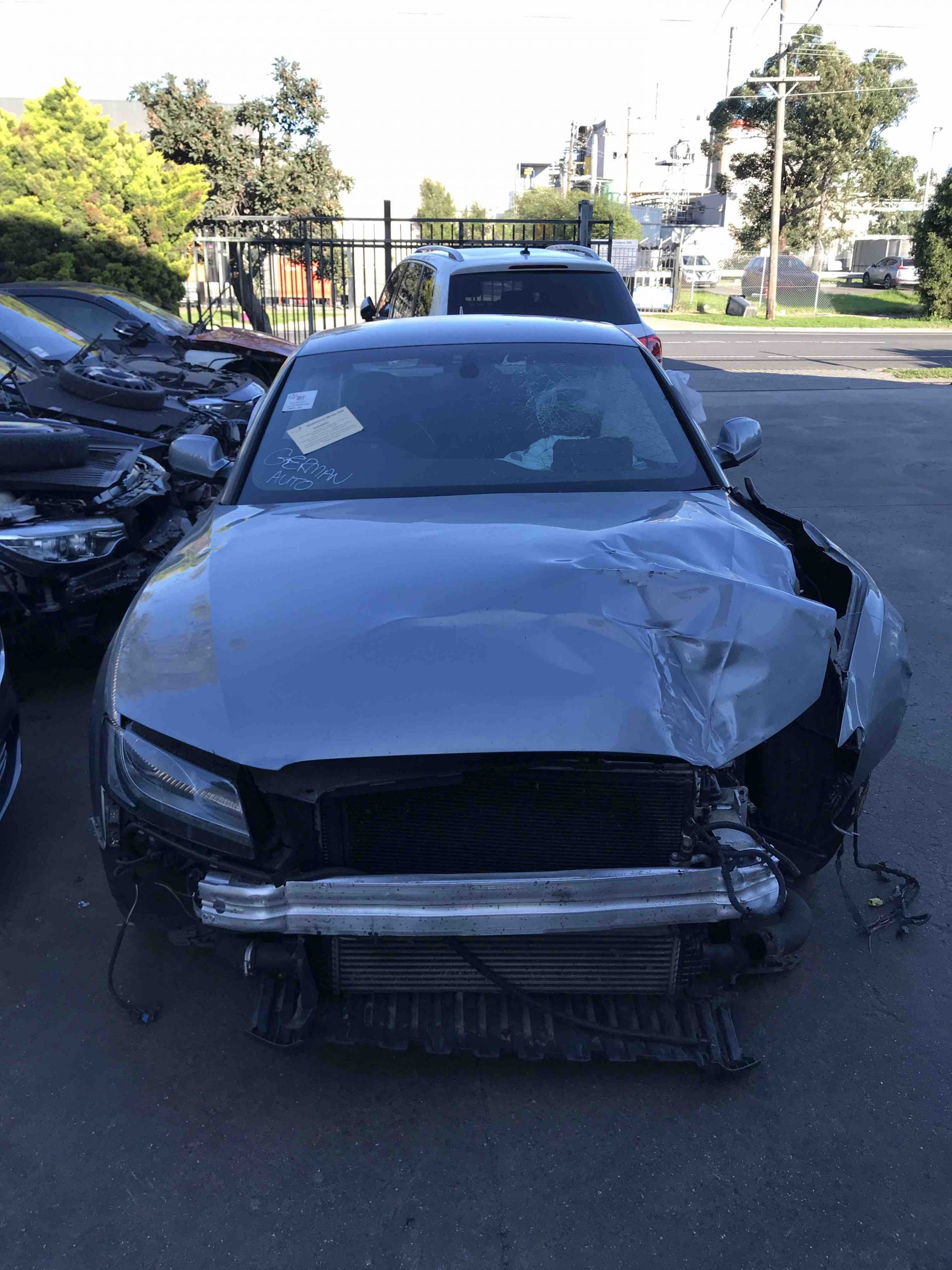 WRECKING AUDI A5 COUPE 2012