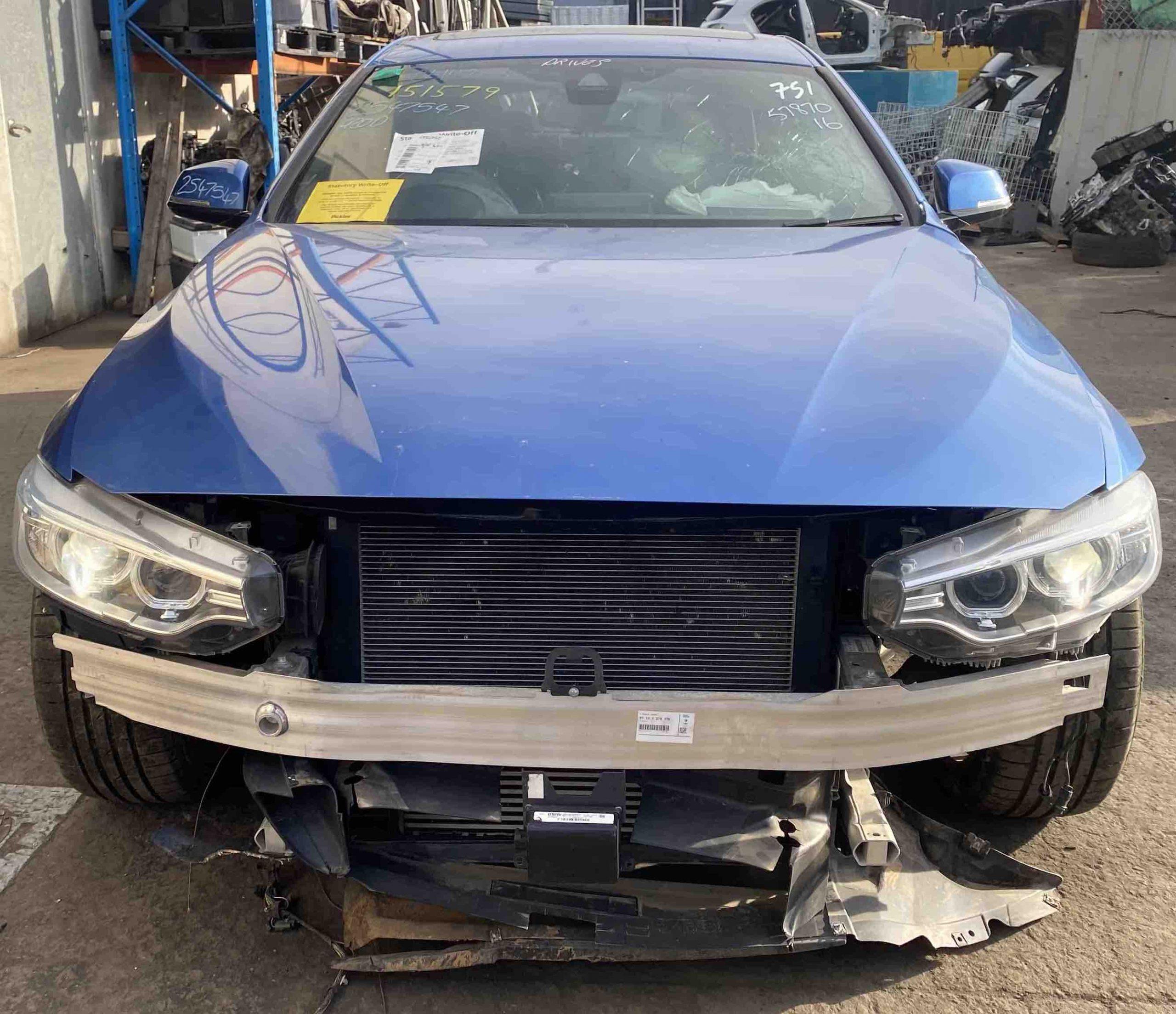 WRECKING BMW F36 420D 2015