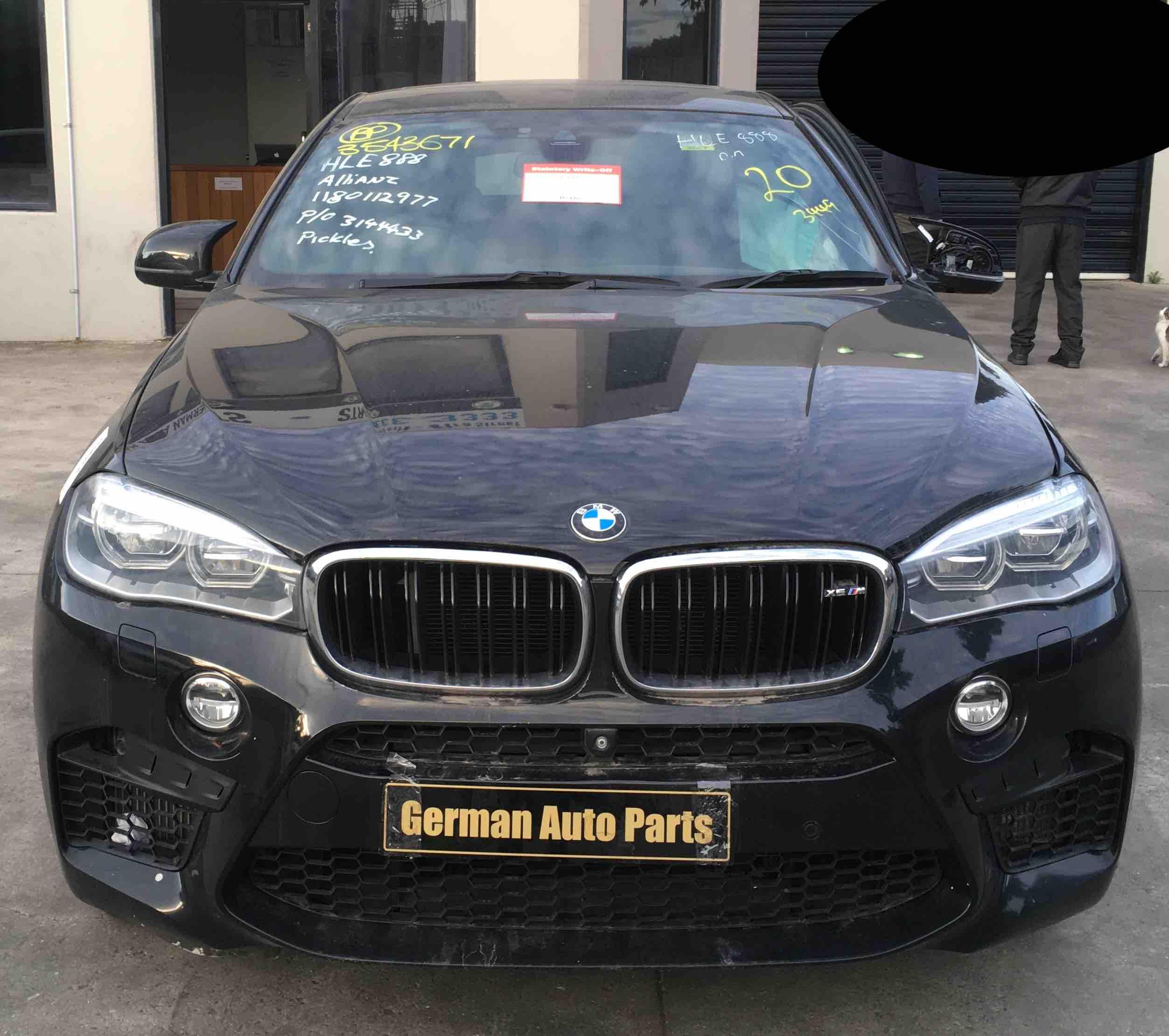 WRECKING BMW F86 X6M 2015
