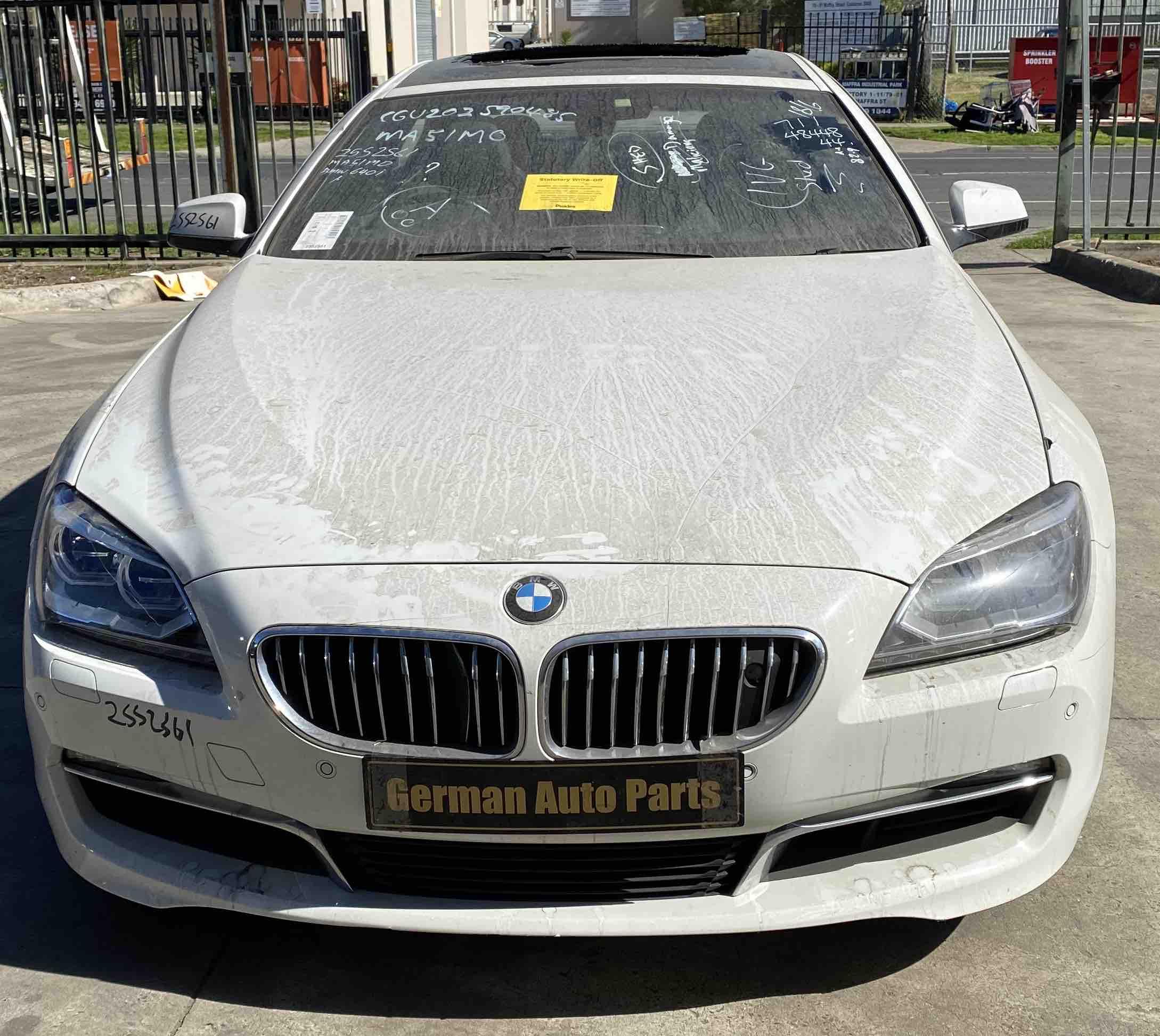 WRECKING BMW F06 640I 2012